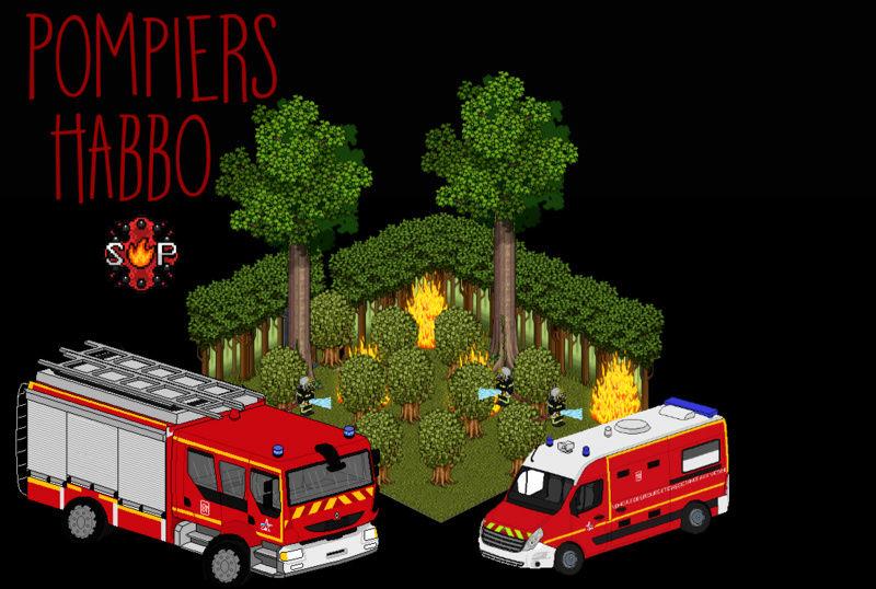 Pompiers d'Habbo