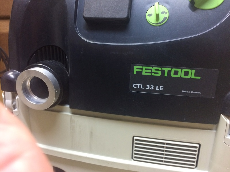 Aspirateur Festool CTL 33 LE Img_7810