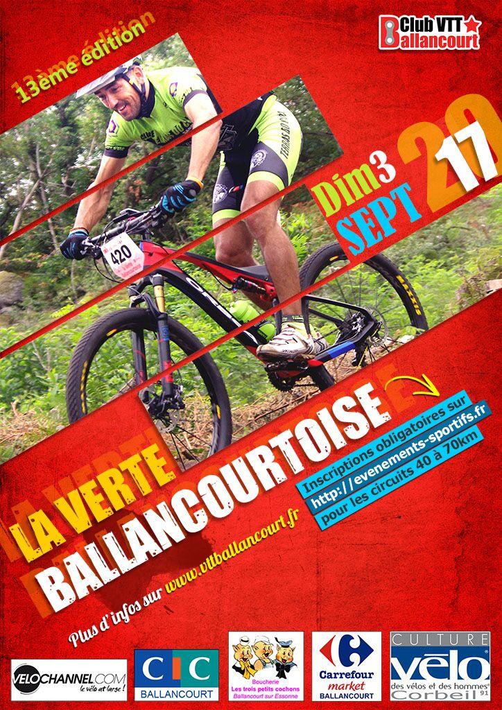 (91) La Verte Ballancourtoise à Ballancourt le 03-09-17 Affich10