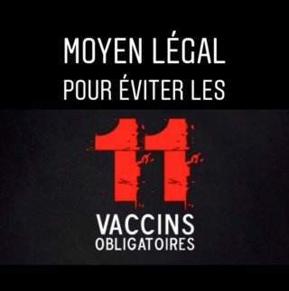 Le seul moyen légal pour éviter les 11 vaccins à votre enfant 03c5d110