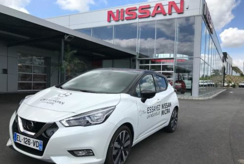 2016 - [Nissan] Micra - Page 18 20170610