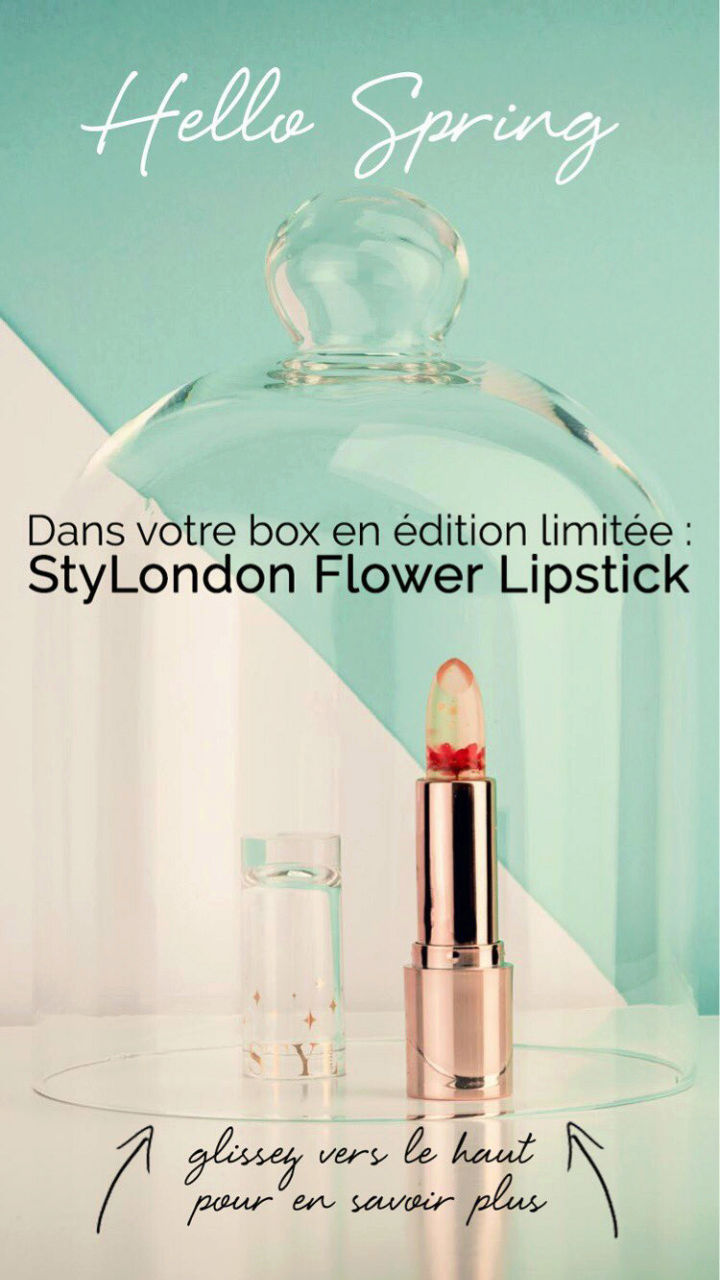 """Glossybox édition limitée """"Hello spring"""" Screen10"""
