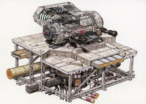 Turbolaser Lourd DBY-827 Arme_d16