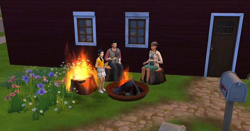 [Challenge Jardin-Ecolo-Sims] Les Laterre ! 16-02-13