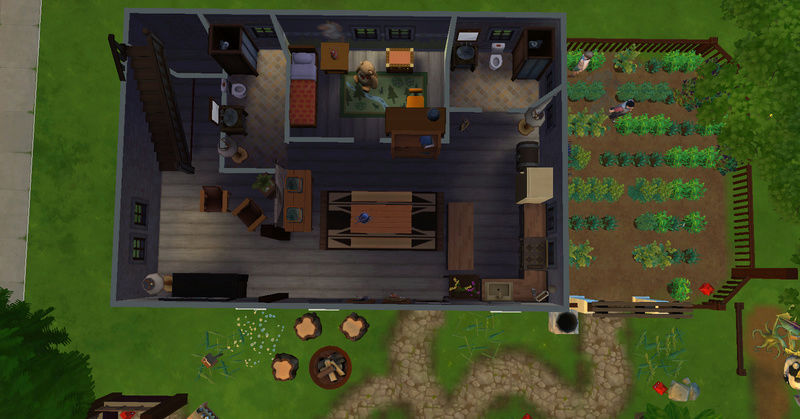 [Abandon] Challenge Jardin-Ecolo-Sims : Les Laterre ! 16-02-17