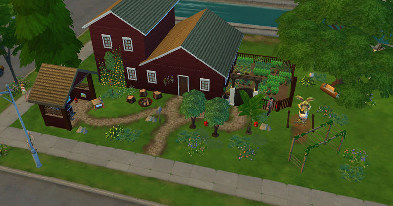[Challenge Jardin-Ecolo-Sims] Les Laterre ! 16-02-22