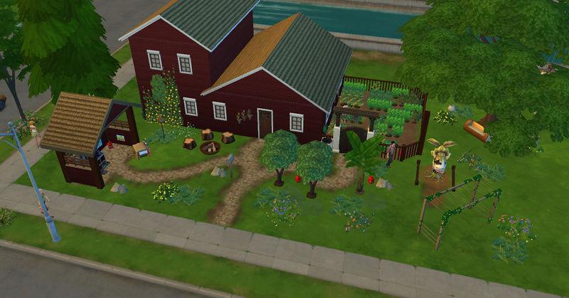 [Abandon] Challenge Jardin-Ecolo-Sims : Les Laterre ! 16-02-22