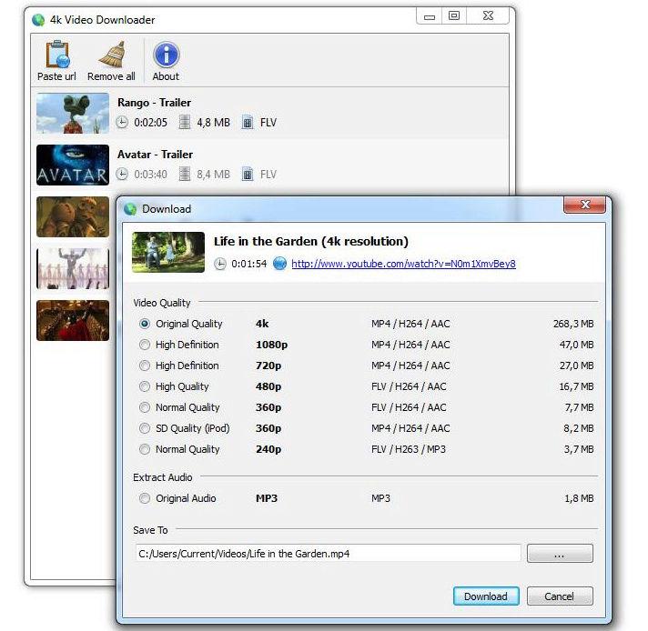 برنامج 4K Video Downloader لتحميل الفيديو بسرعه وبجودات فائقة 2017 2018 Img3fi10