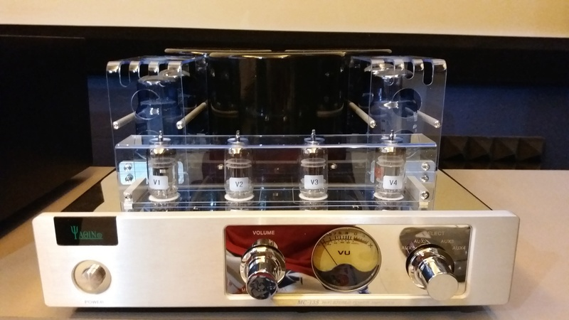 YAQIN MC-13S 40WPC EL34 Vacuum Tube integrate amplifier  20170311