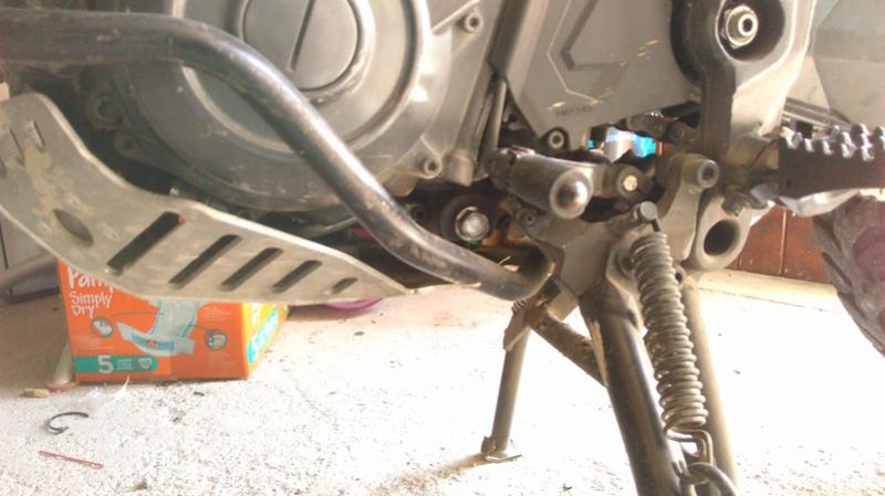 Pb montage crash bar bas touratruc Imag0214