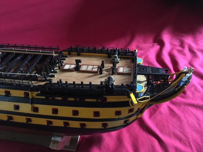 HMS VICTORY de chez Constructo au 1/94e - Page 4 Img_1312