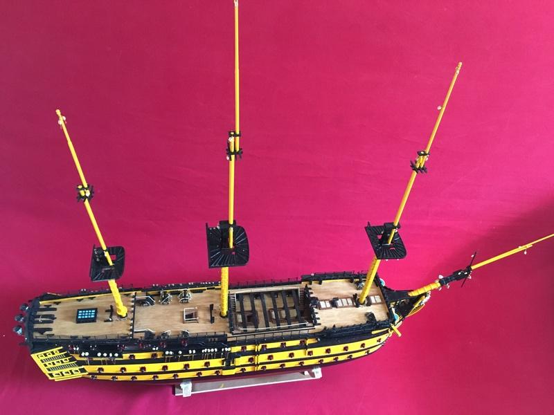 HMS VICTORY de chez Constructo au 1/94e - Page 4 Img_1512