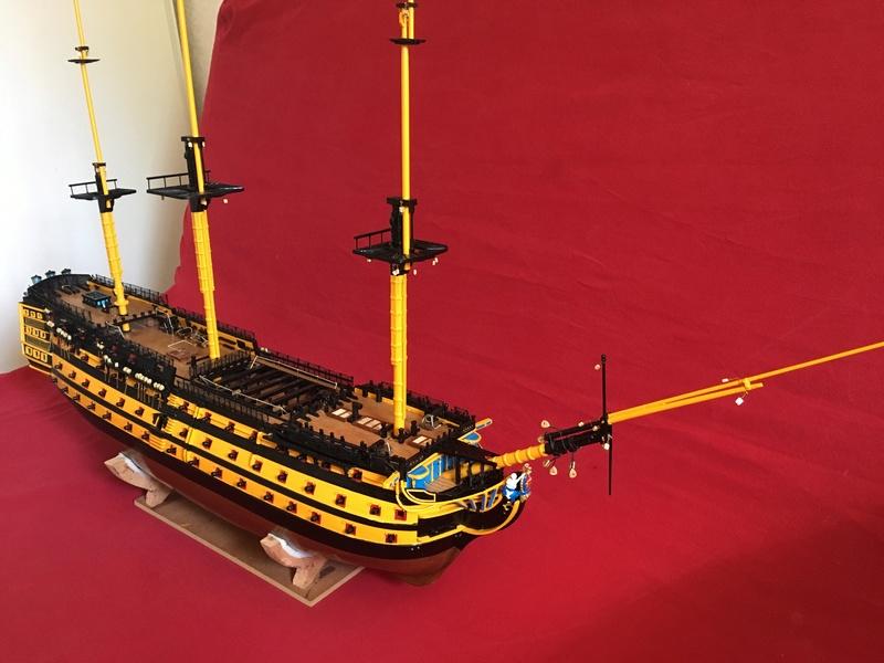 HMS VICTORY de chez Constructo au 1/94e - Page 4 Img_1514