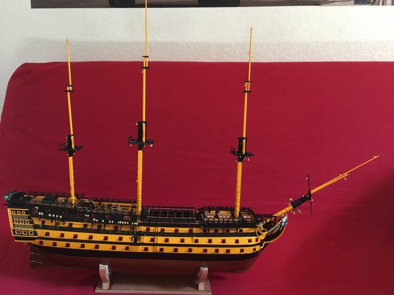 HMS VICTORY de chez Constructo au 1/94e - Page 4 Img_1515