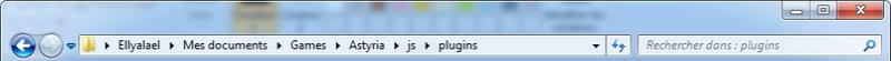 Modifier le fond bleu des plugins de menu de Yanfly Tuto110
