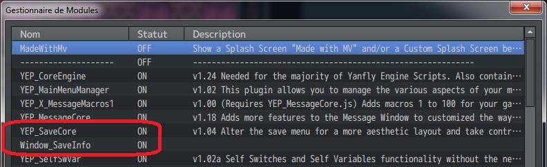 Modifier le fond bleu des plugins de menu de Yanfly Tuto410