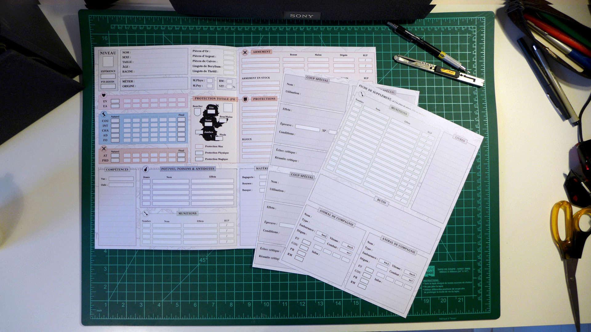 Fiches de Personnage PDF avec mise à jour automatique P1010812