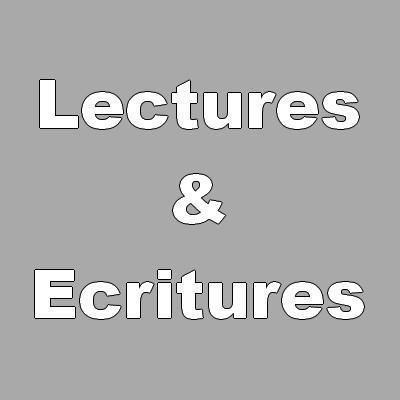 Lectures / écritures