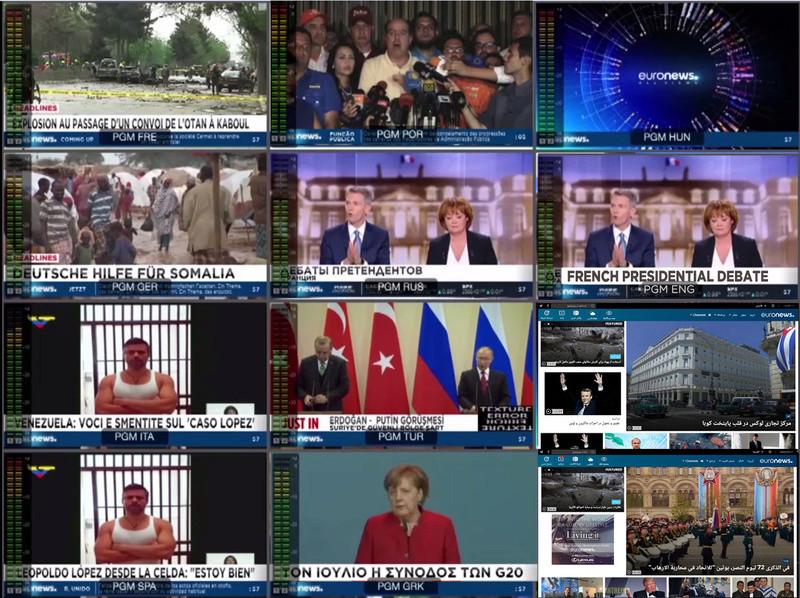 Euronews réinvente son modèle de média international d'information numérique Eurone10