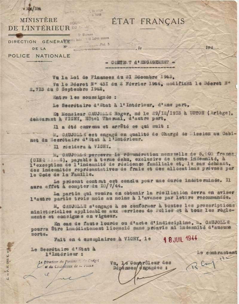 Carte LFC et contrat 1944 00111