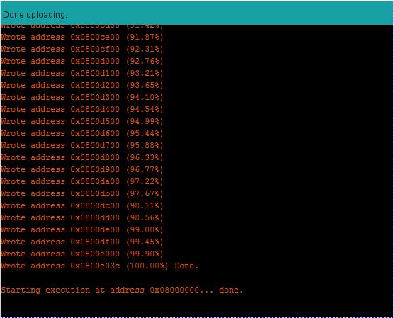 [TUTO] Customisation sous Arduino du module multiprotocole BG 4 en 1 STM32 Captur31