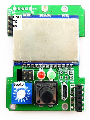 [TUTO] Customisation sous Arduino du module multiprotocole BG 4 en 1 STM32 Captur35