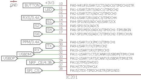 [TUTO] Customisation sous Arduino du module multiprotocole BG 4 en 1 STM32 Io-stm10