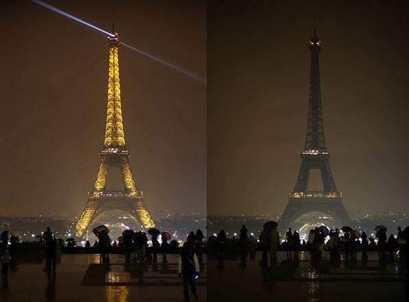 Earth hour : la Tour Eiffel sera éteinte le 25 mars Extinc10