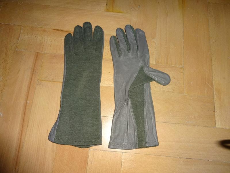 Slovak Air Force flight jumpsuit, gloves and garrison cap Dsc02616