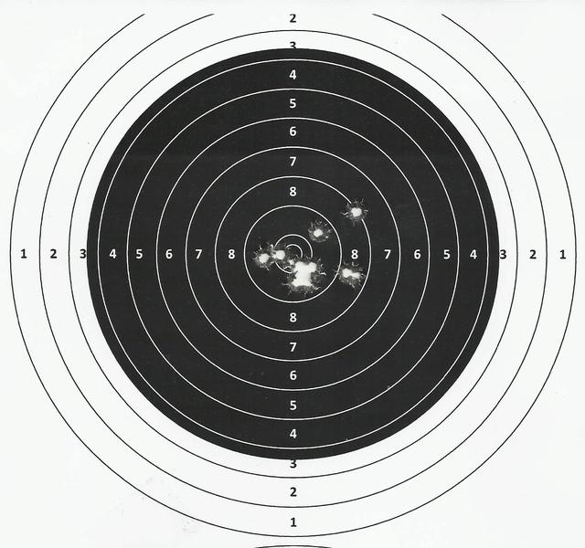 Un tir ajourd'hui à 50m au dioptre. 2017-013