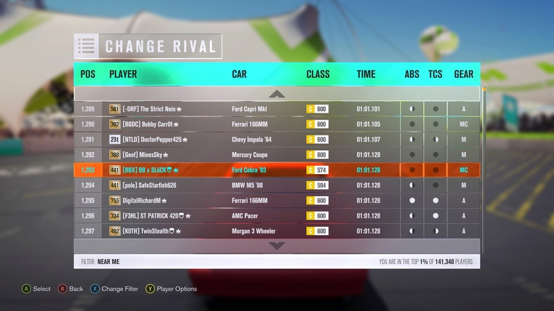 FH3 Stock Car Challenge of the Week #2 Img_1318