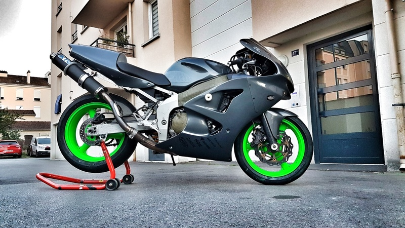 Transformation Route / Piste de mon ZX-6R de 1999 20170613