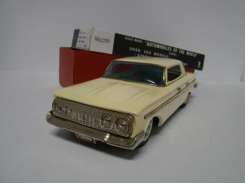 us car -  tôle - Tin Toys -  1950's & 1960's - Page 5 1018