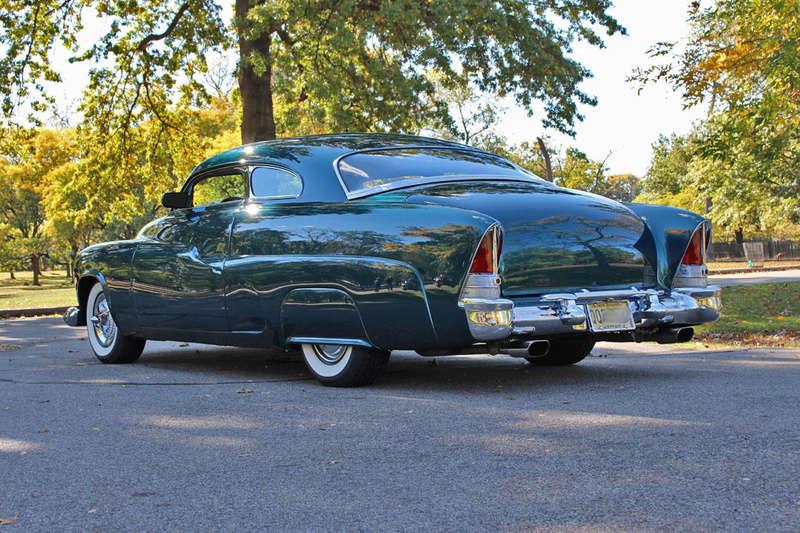1951 Mercury Custom Coupe - Emerald Jewel - Don Blake 1019