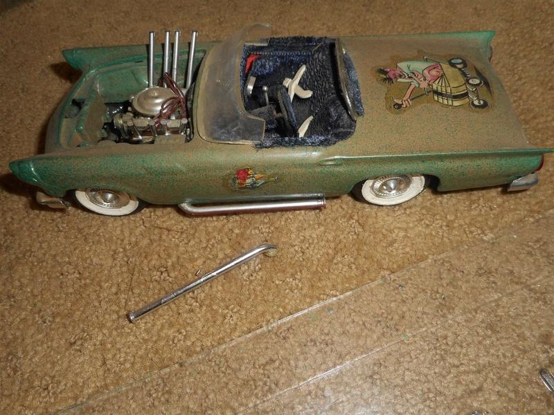 Vintage built automobile model kit survivor - Hot rod et Custom car maquettes montées anciennes - Page 9 1020