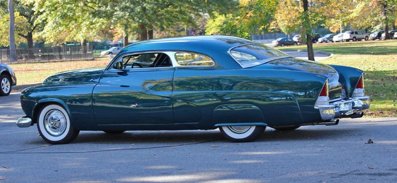 1951 Mercury Custom Coupe - Emerald Jewel - Don Blake 1119