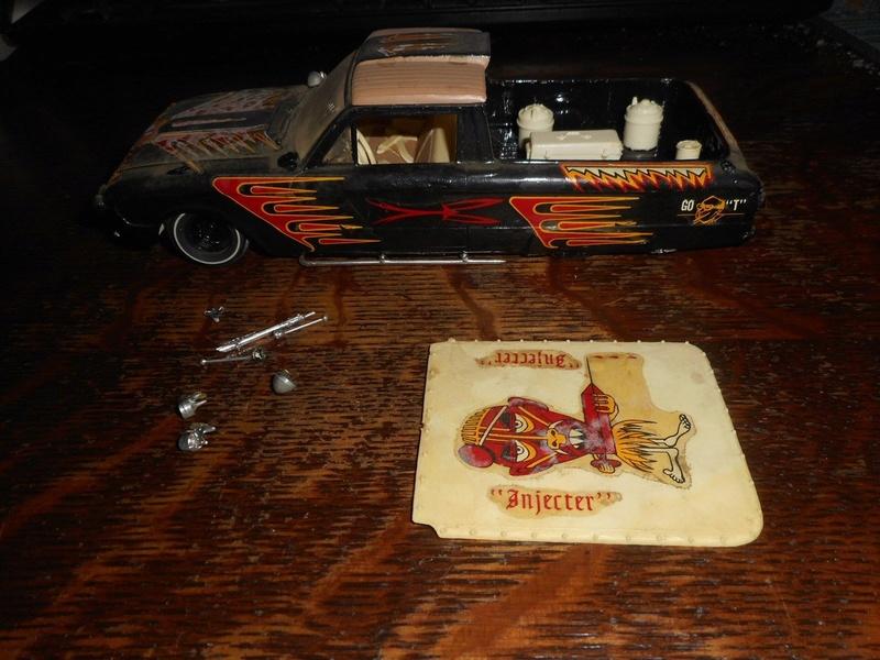 Vintage built automobile model kit survivor - Hot rod et Custom car maquettes montées anciennes - Page 9 1120