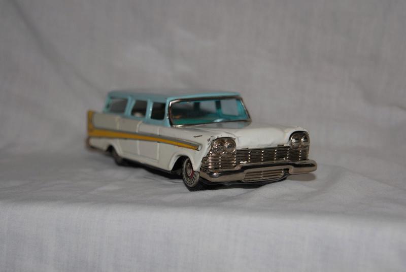 us car -  tôle - Tin Toys -  1950's & 1960's - Page 5 116