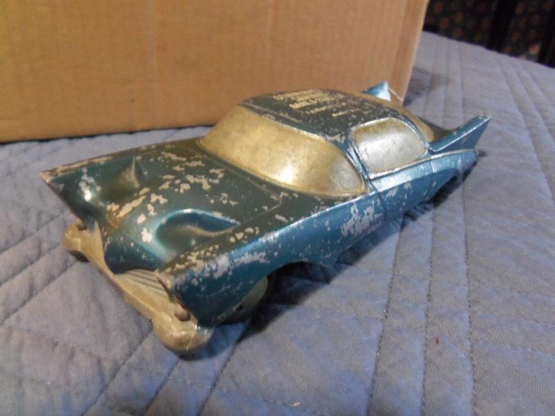 mid-'50s Expereimental Concept Car - Vintage Banthrico Promo bank 123