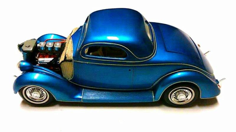 Vintage built automobile model kit survivor - Hot rod et Custom car maquettes montées anciennes - Page 9 15800110
