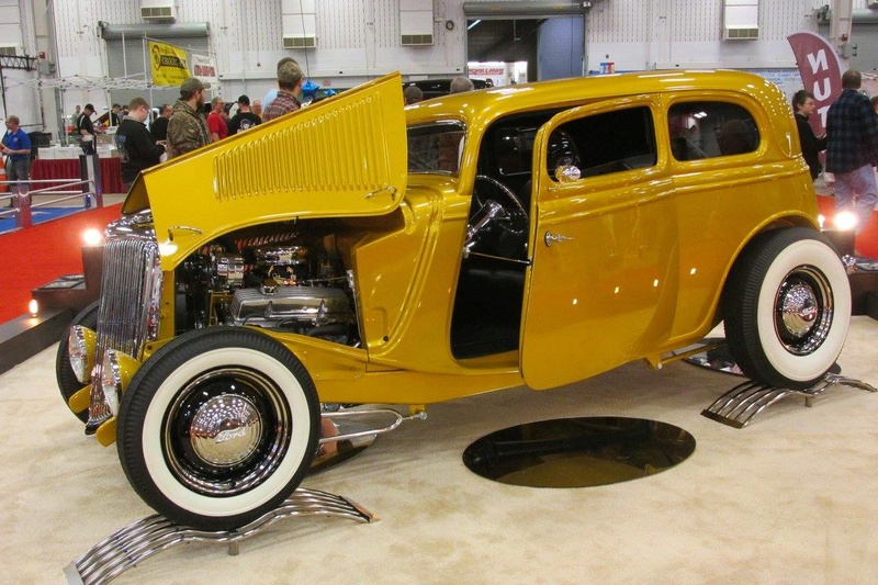 World of Wheels car show-Indianapolis State Fairgrounds - 03 / 2017 16664810