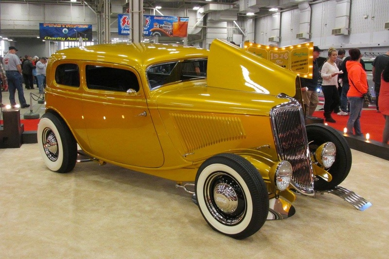 World of Wheels car show-Indianapolis State Fairgrounds - 03 / 2017 16665613