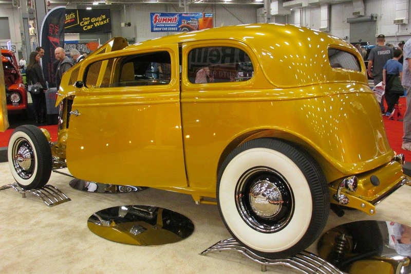 World of Wheels car show-Indianapolis State Fairgrounds - 03 / 2017 16700311