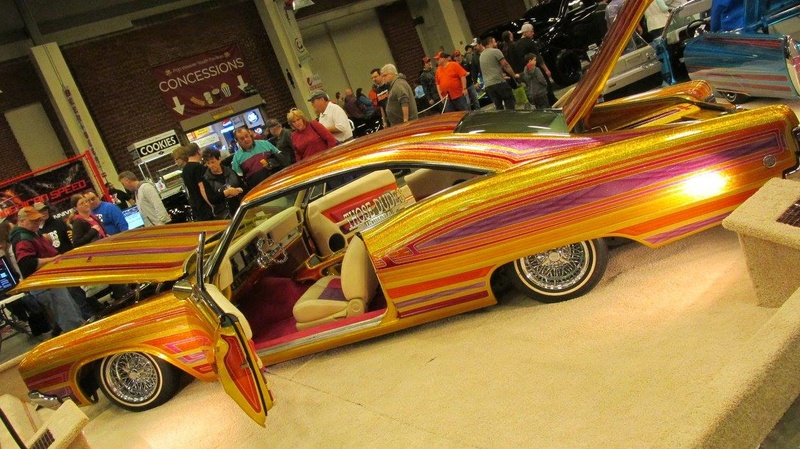 World of Wheels car show-Indianapolis State Fairgrounds - 03 / 2017 16716010