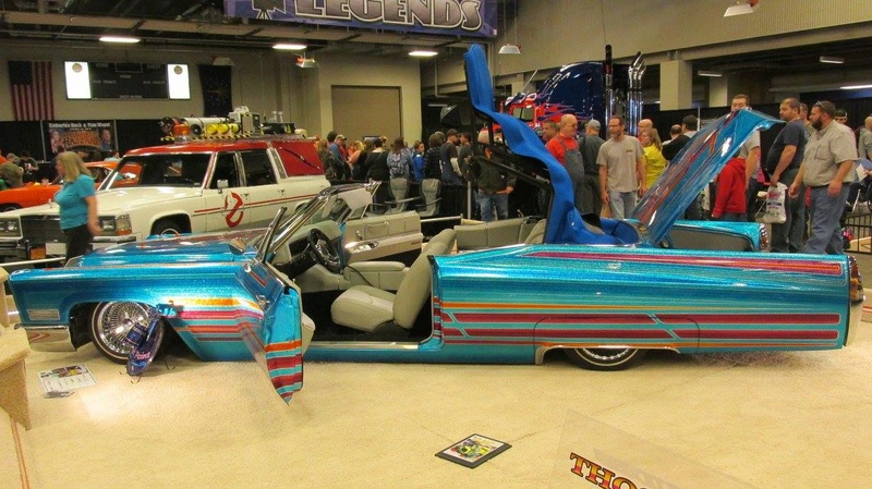 World of Wheels car show-Indianapolis State Fairgrounds - 03 / 2017 16797310