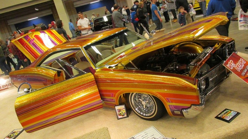 World of Wheels car show-Indianapolis State Fairgrounds - 03 / 2017 16836110