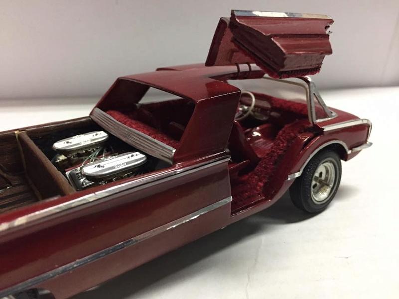 Vintage built automobile model kit survivor - Hot rod et Custom car maquettes montées anciennes - Page 8 16996410