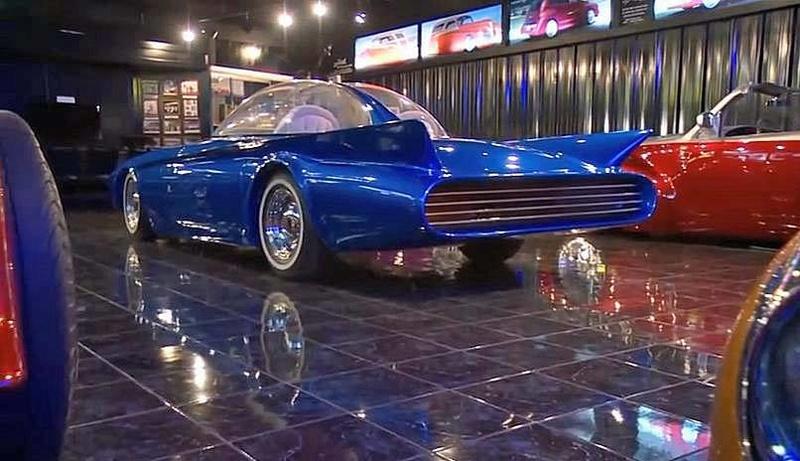 Predicta - Darrill Starbird - 1956 tbird radical bubble top custom 17098210