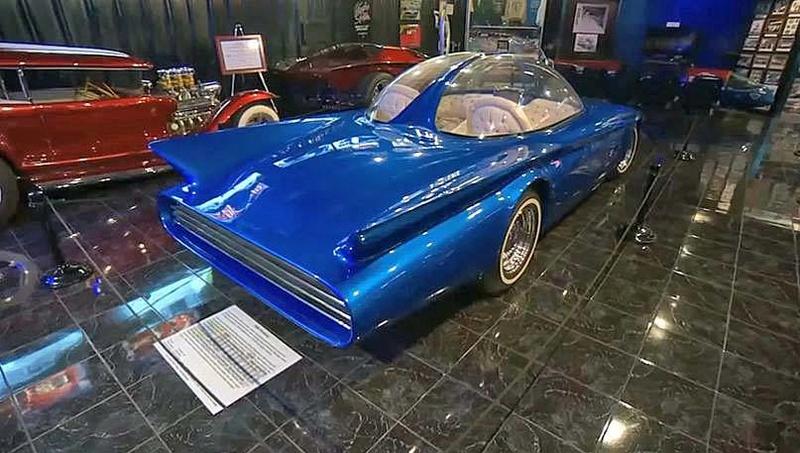 Predicta - Darrill Starbird - 1956 tbird radical bubble top custom 17098311