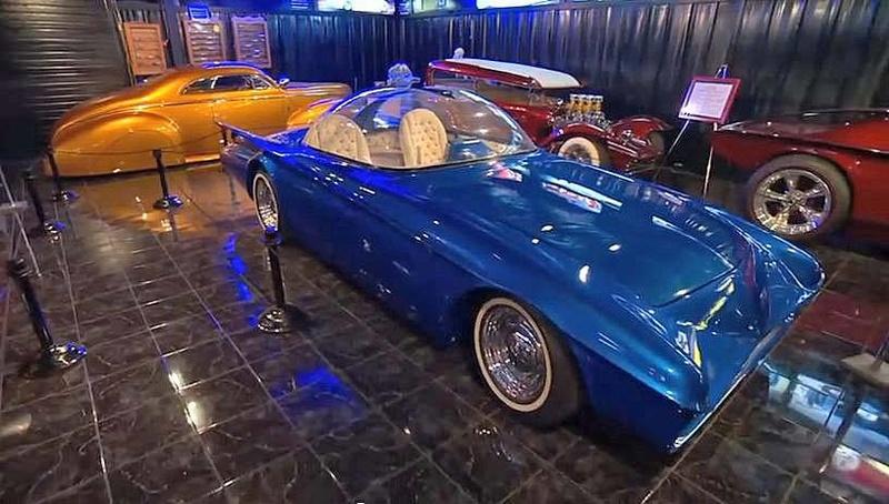 Predicta - Darrill Starbird - 1956 tbird radical bubble top custom 17190611